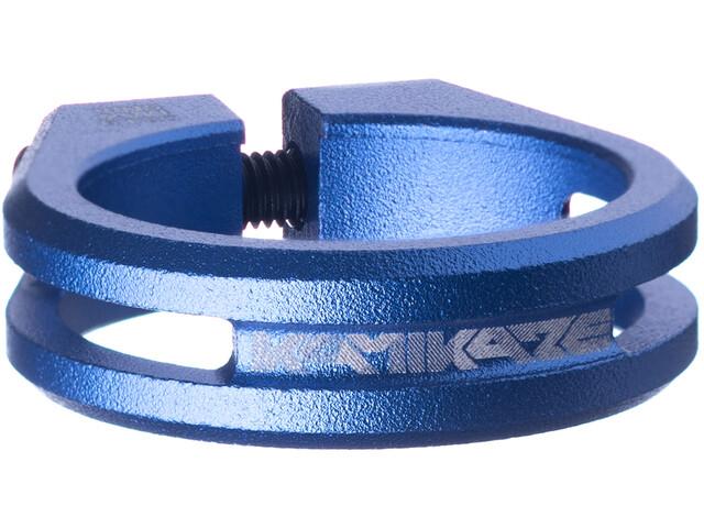 Sixpack Kamikaze Sattelklemme Ø34,9mm blue